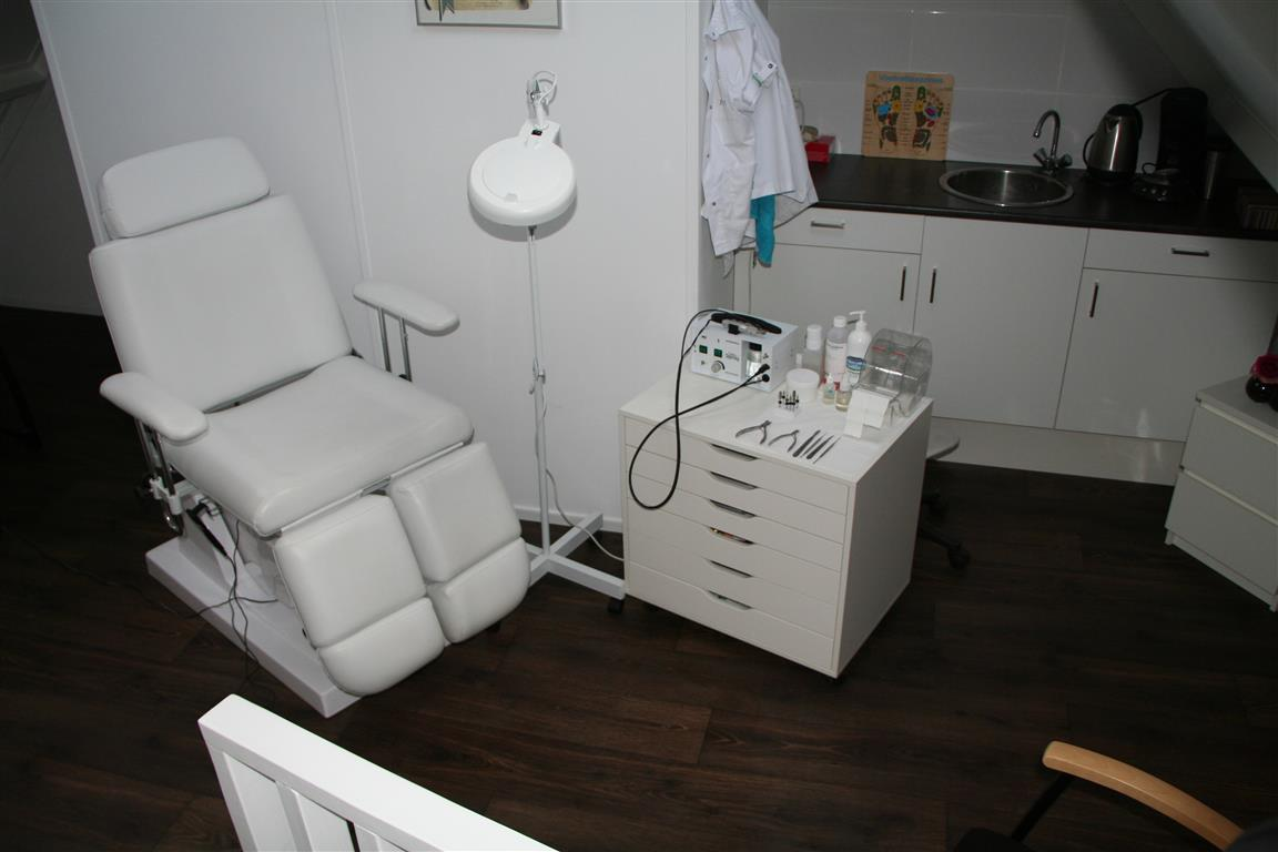 De praktijk pedicure salon dieke for Salon de pedicure